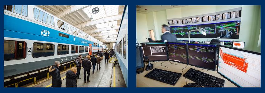 Technical Visits (Czech Railways Depot / Balabenka control centre)